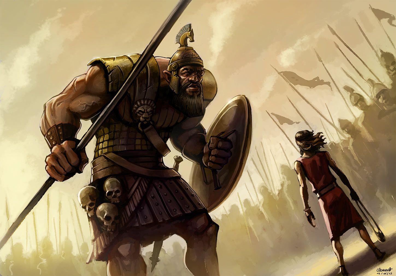 Location Of David And Goliath David And Goliath Sunday ...