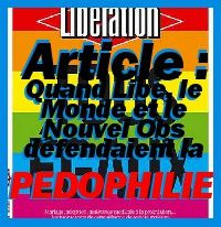 Libération gauche pédophile