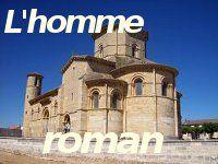 l'homme roman Eglise romane