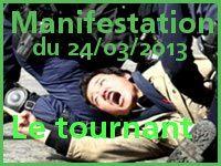 Manifestation du 24/03/2013