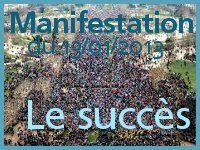Manifestation du 13/01/2013