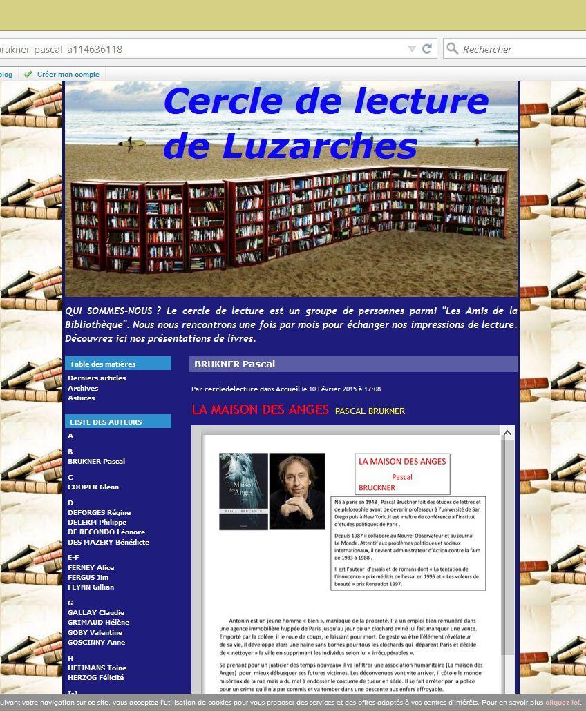 http://cercledelecturedeluzarches.eklablog.com/accueil-c25973206