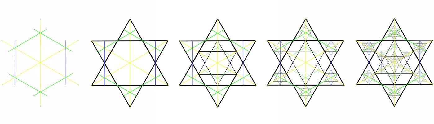 Etoile à Six Branches Les Lumières De Yohavan