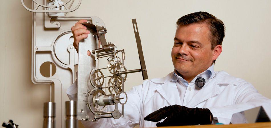 Un mouvement de manufacture suisse à l'Atelier d'Objectif Horlogerie