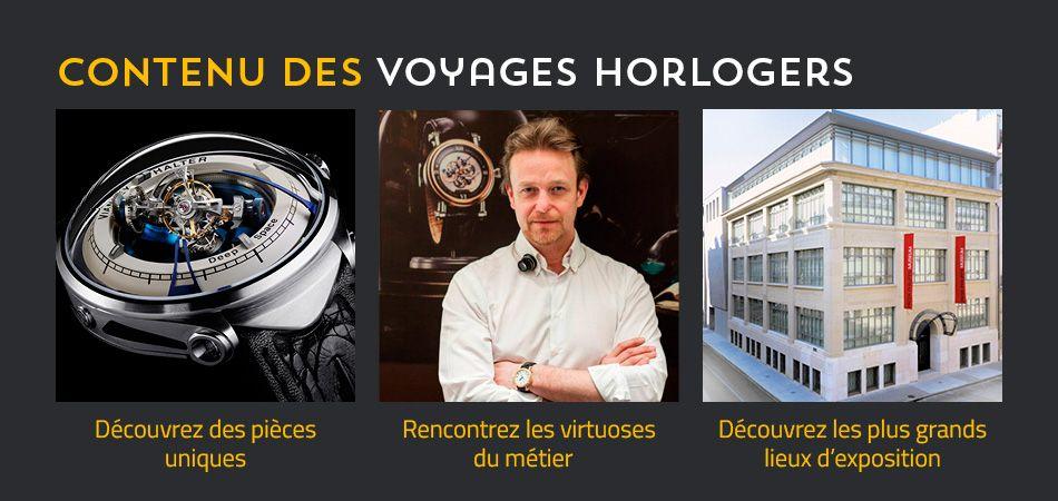 Voyage horloger
