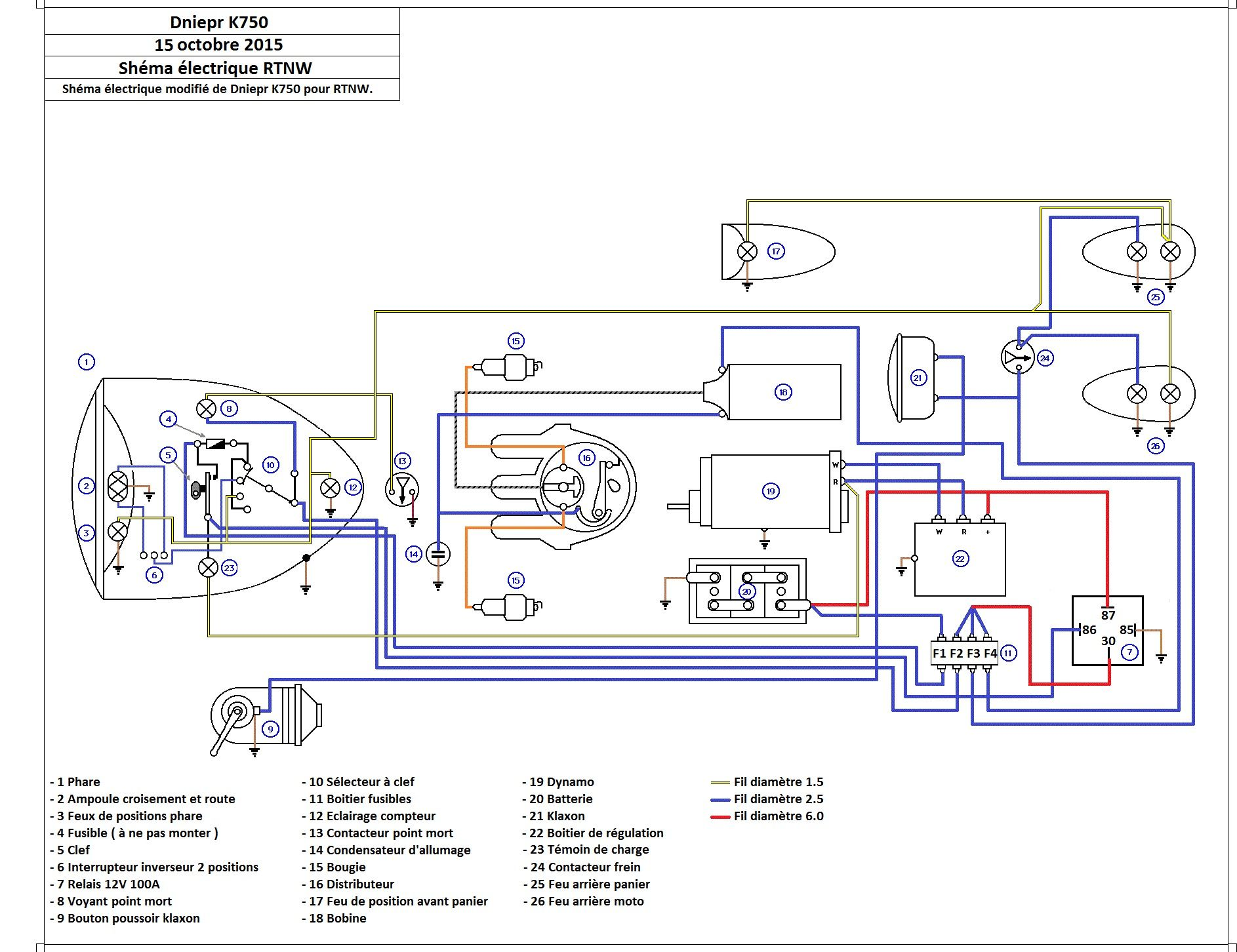 ural motorcycle wiring diagram ural ignition diagram