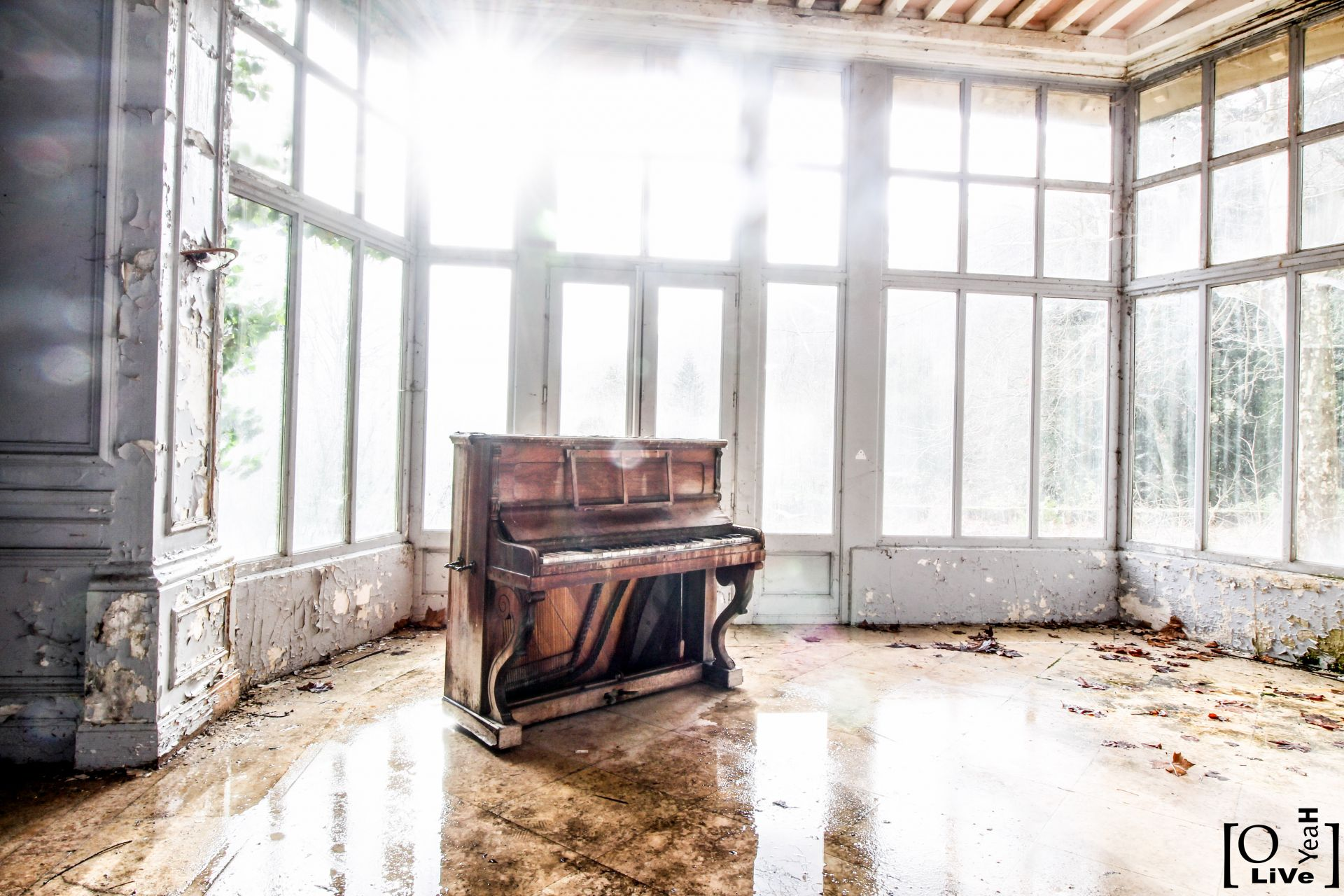 La photo URBEX avec Olivier LERME - Piano