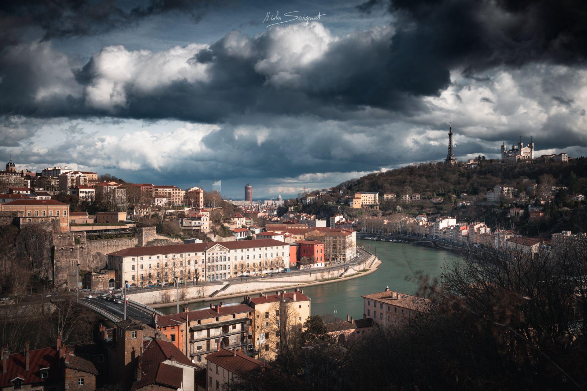 Le Rhône à Lyon - Les photographes de Joomeo : Paysages et lumière de ©Nicolas Savignat
