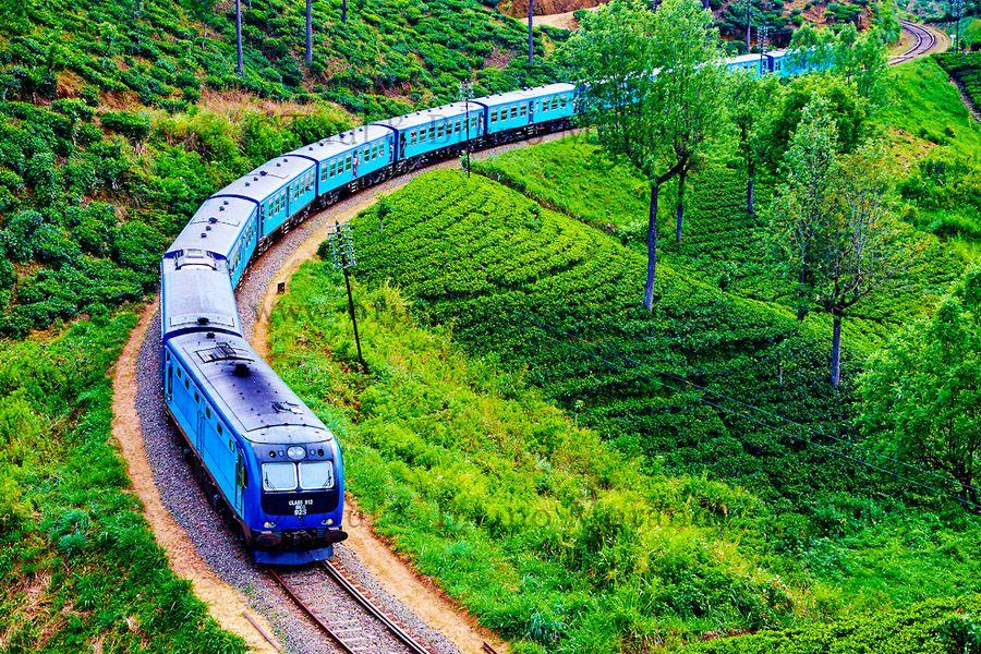 Voyage sur-mesure, Voyage légendaire à bord des trains au Sri Lanka