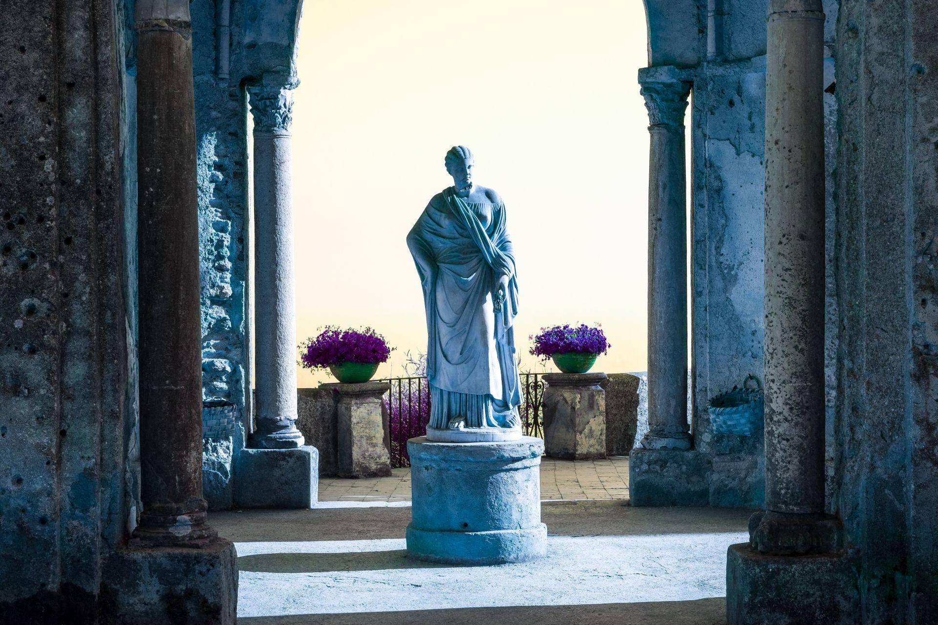 La statue-Les voyages Fantasmés de Yohan Chardey