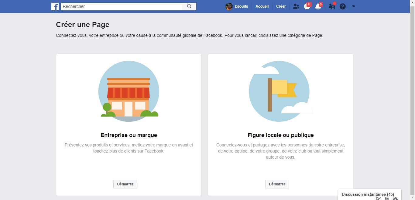 Créer et optimiser une page Facebook