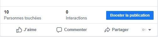 Comment booster une publication Facebook