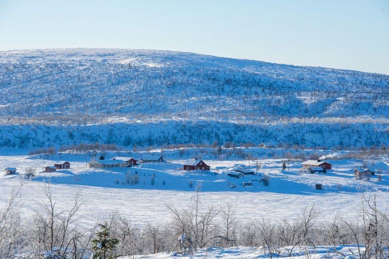 Cătun Saami în Laponia finlandeză