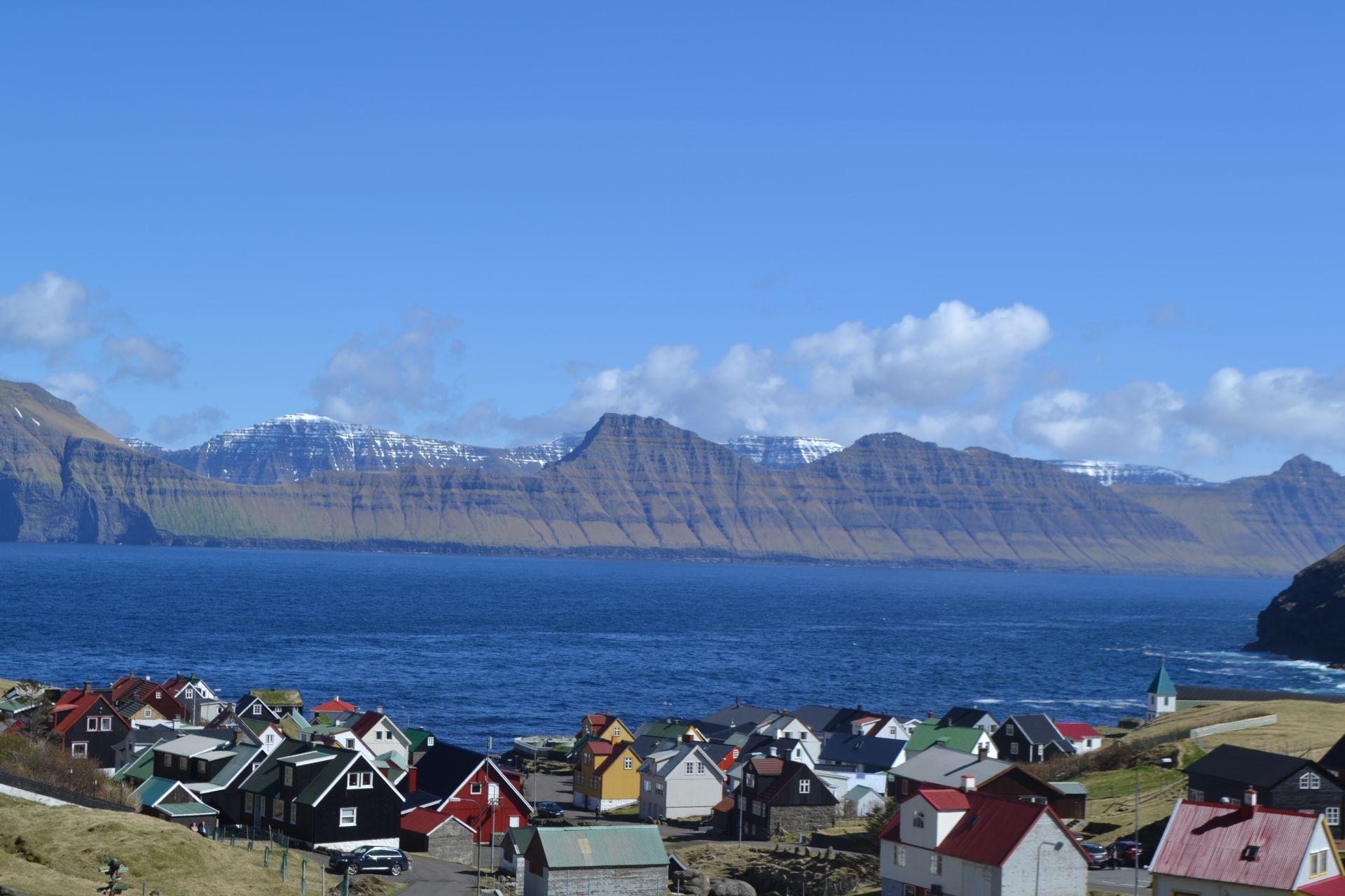 Sătuc din nordul Insulelor Feroe