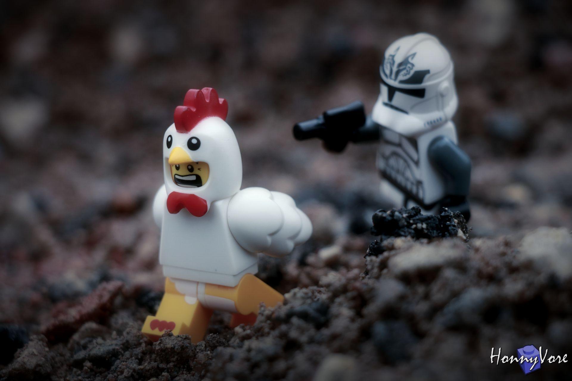 La vie imaginaire des figurines Lego© d'HonnyVore