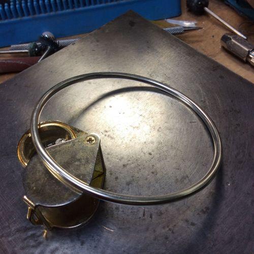 Bracelet rigide avec deux perles Akoya de 5,9 mm 56791add06407