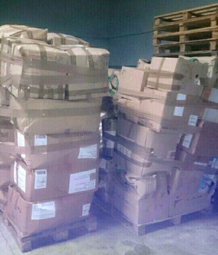 49 cartons pour plus de 1000 kg de vêtements pour l'Afrique