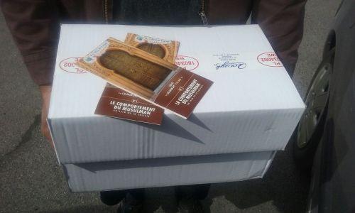 Distribution de viande aux nécessiteux d'Ile-de-France