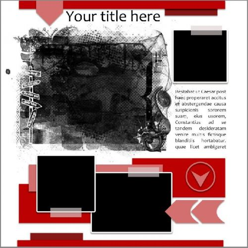 Template 011017 - 3+1 photos
