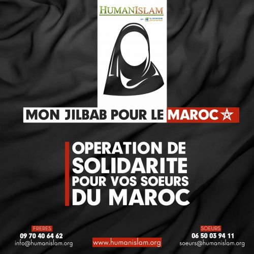 Mon jilbab pour le Maroc