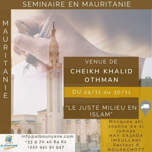 Séminaire Nouakchott