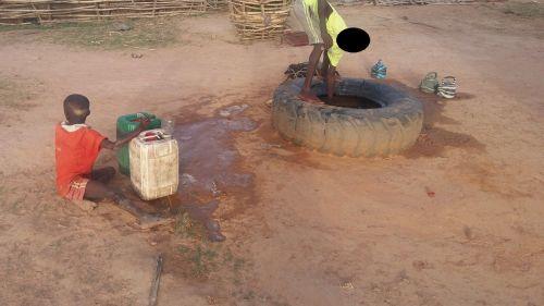 Nouveau forage à Sébékoro au Mali
