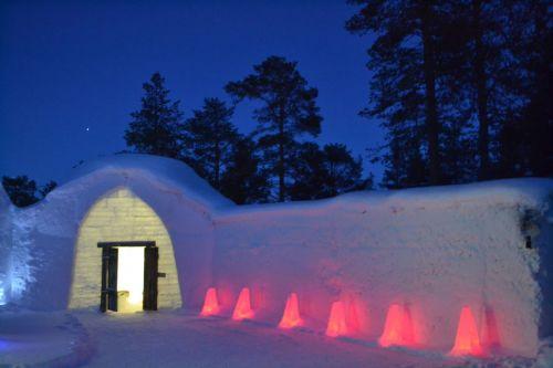 Sat de 500 de locuitori în nord-vestul Laponiei