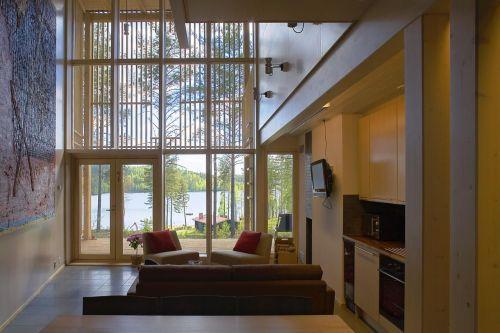 Cottage design și cozy, pe malul lacului Saima****