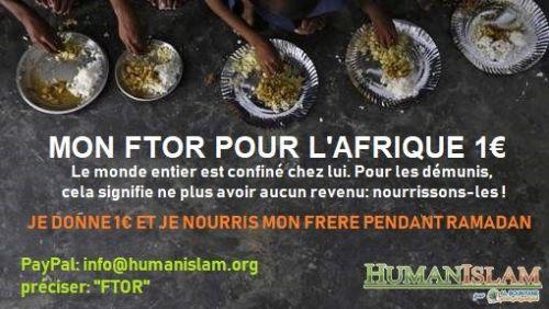 Mon Ftor pour l'Afrique = 1€