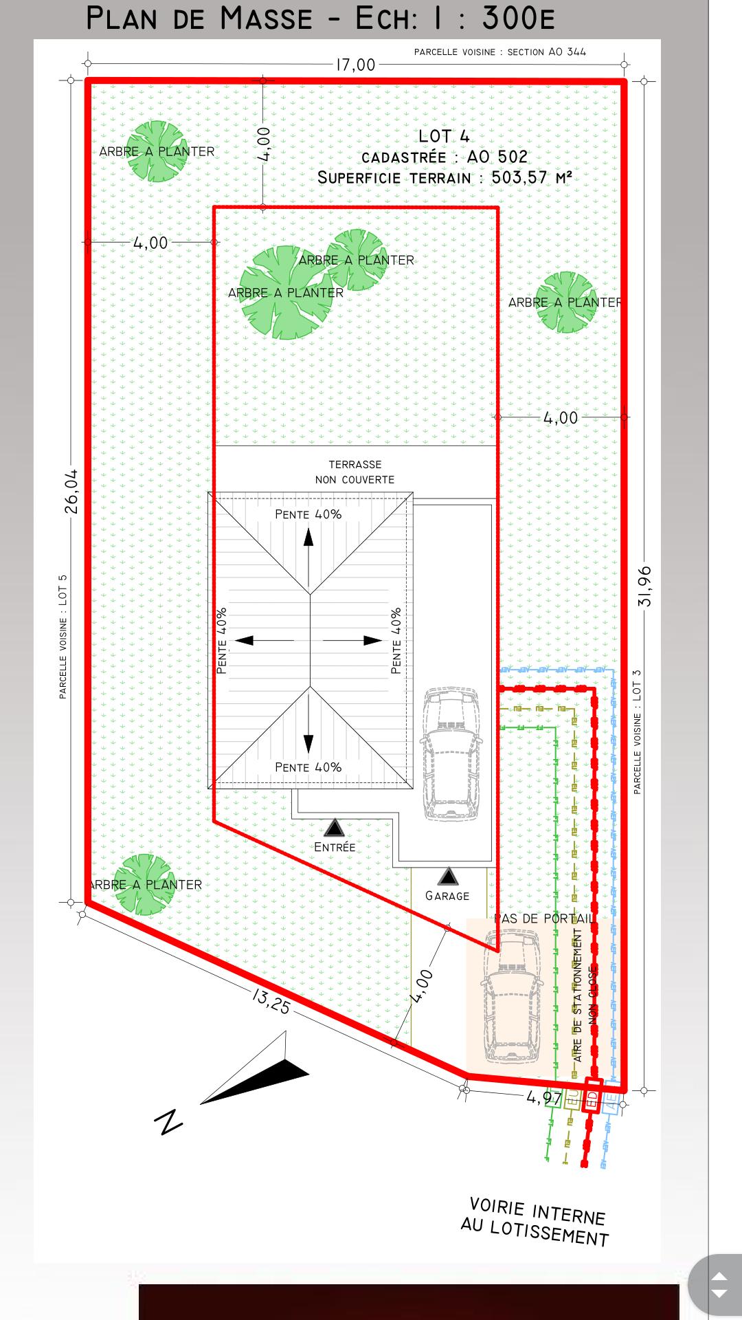 Besoin d 39 avis sur plan maison tage 96m2 43 messages - Plan amenagement exterieur maison ...